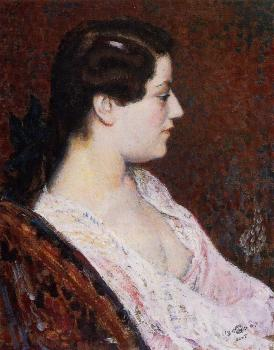 Georges Lemmen : Woman with Bared Breast