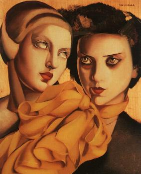 Tamara De Lempicka : The Young Ladies