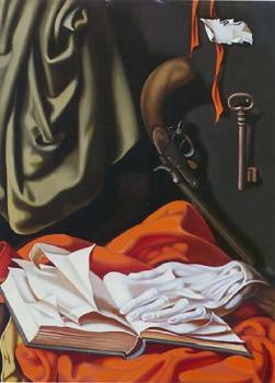 Tamara De Lempicka : Key and Hand