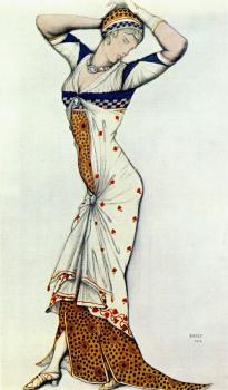 Design for a lady s dress