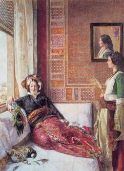 John Frederick Lewis : Harem Life in Constantinople