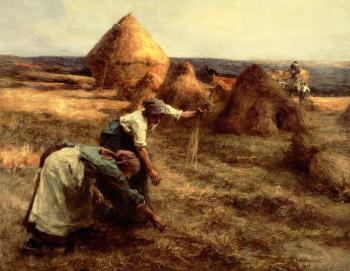 Leon Augustin Lhermitte : The Gleaners
