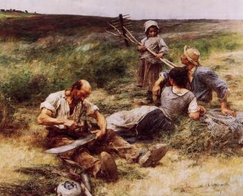 Leon Augustin Lhermitte : The Haymakers