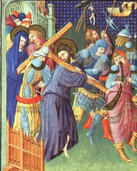 Limbourg Brothers : The Way to Calvary