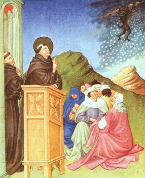 Limbourg Brothers : St. Anthony of Padua Stilling a Storm