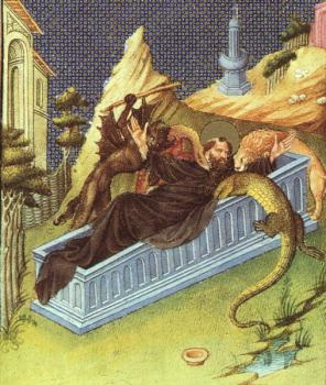 St. Anthony Attacked by Devils
