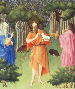 Limbourg Brothers : St. John the Baptist in the Wilderness