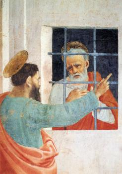 St Peter Visited In Jail By St Paul