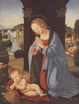 Lorenzo Di Credi : The Holy Family