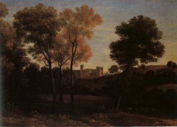 Claude Lorrain : View of La Crescenza