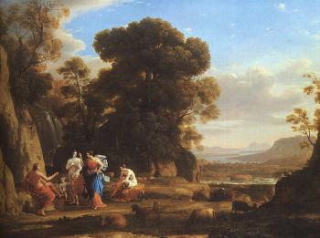 Claude Lorrain : The Judgement of Paris