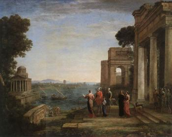 Claude Lorrain : Aeneas's Farewell to Dido in Carthago