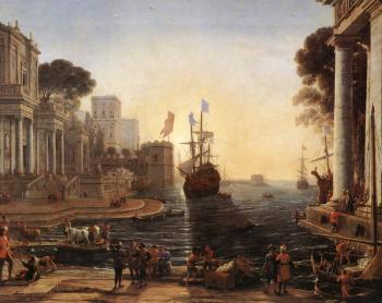 Claude Lorrain : Ulysses Returns Chryseis to her Father