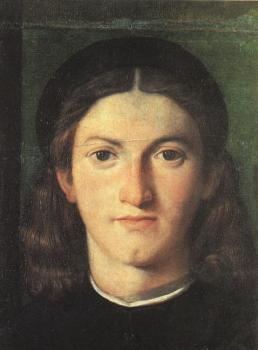 Lorenzo Lotto : Head of a Young Man