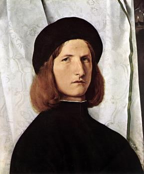 Lorenzo Lotto : Portrait of a Man