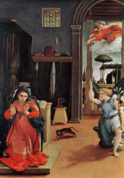 Lorenzo Lotto : Annunciation