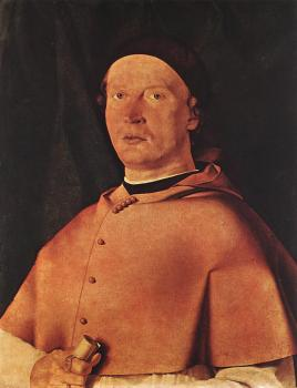 Lorenzo Lotto : Bishop Bernardo de' Rossi