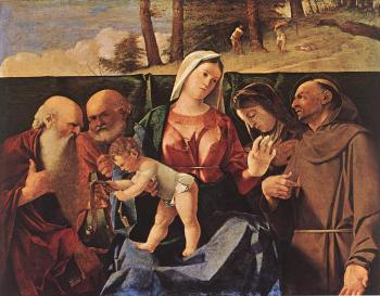 Madonna and Child with Saints II