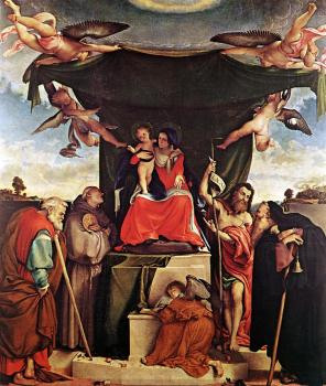 Madonna and Child with Saints III