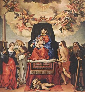Madonna and Child with Saints IV