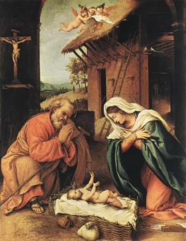 Lorenzo Lotto : Nativity