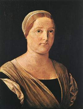 Lorenzo Lotto : Portrait of a Woman