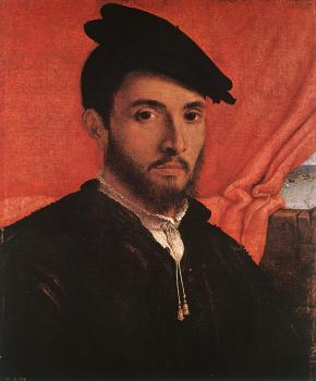 Lorenzo Lotto : Portrait of a Young Man