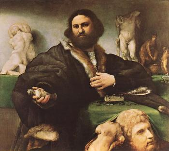 Lorenzo Lotto : Portrait of Andrea Odoni