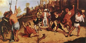 Lorenzo Lotto : The Martyrdom of St Stephen