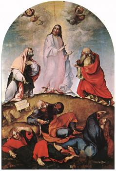 Lorenzo Lotto : Transfiguration