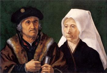 Jan Mabuse : An Elderly Couple