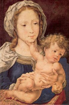 Jan Mabuse : Virgin and Child