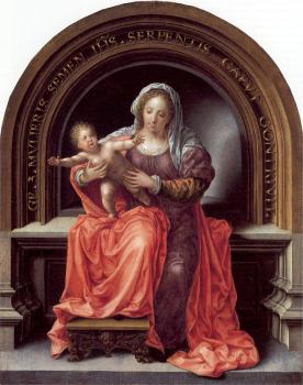 Jan Mabuse : The Virgin and Child