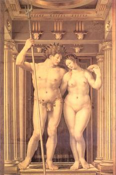 Jan Mabuse : Neptune and Amphitrite