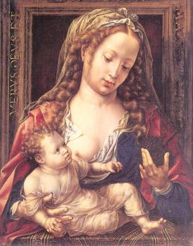 Jan Mabuse : Virgin and Child II