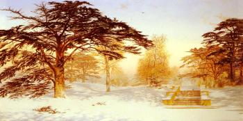 Andrew MacCallum : Untrodden Snow, The Terrace, Holland House