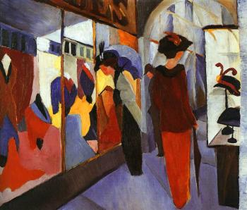 August Macke : Fashion Store