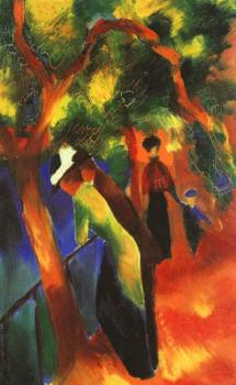August Macke : Sunny way