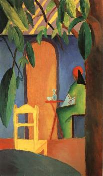 August Macke : Turkish Cafe