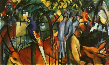 August Macke : Zoological Garden I