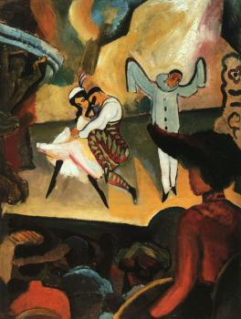 August Macke : Russisches Ballett