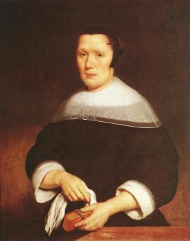 Nicolaes Maes : Portrait of a Woman