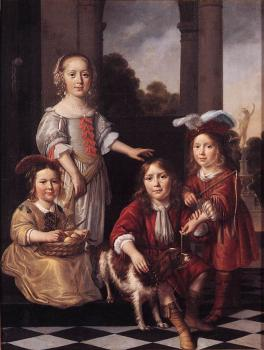 Portrait of Four Children