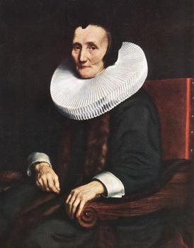 Portrait of Margaretha de Geer, Wife of Jacob Trip