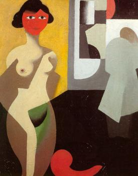 Rene Magritte : Woman Bathing