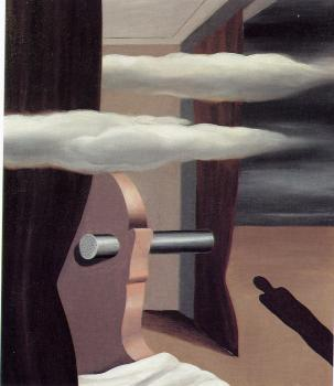 Rene Magritte : the deser catapult