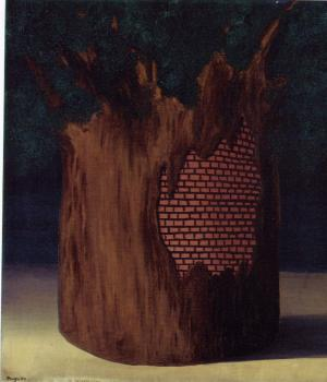 Rene Magritte : the threshold of the forest
