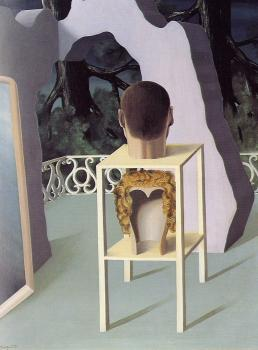 Rene Magritte : the midnight marriage