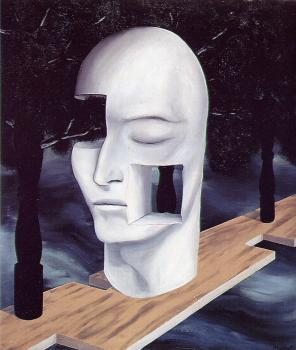 Rene Magritte : the face of cenmu