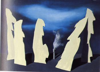 Rene Magritte : the secret of the procession